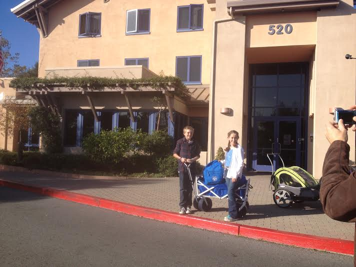 First delivery to Stanford Childrens Hospital