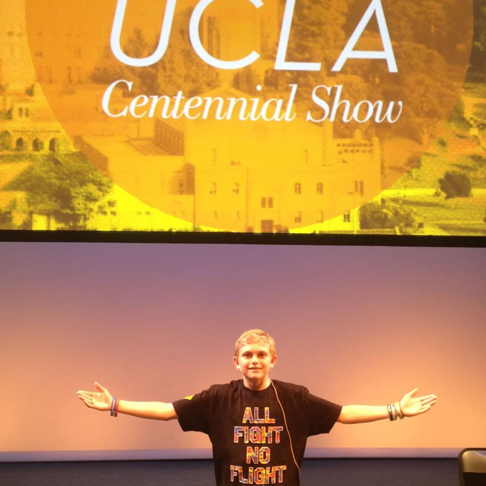 Nck at the UCLA Centennial celebration 2014