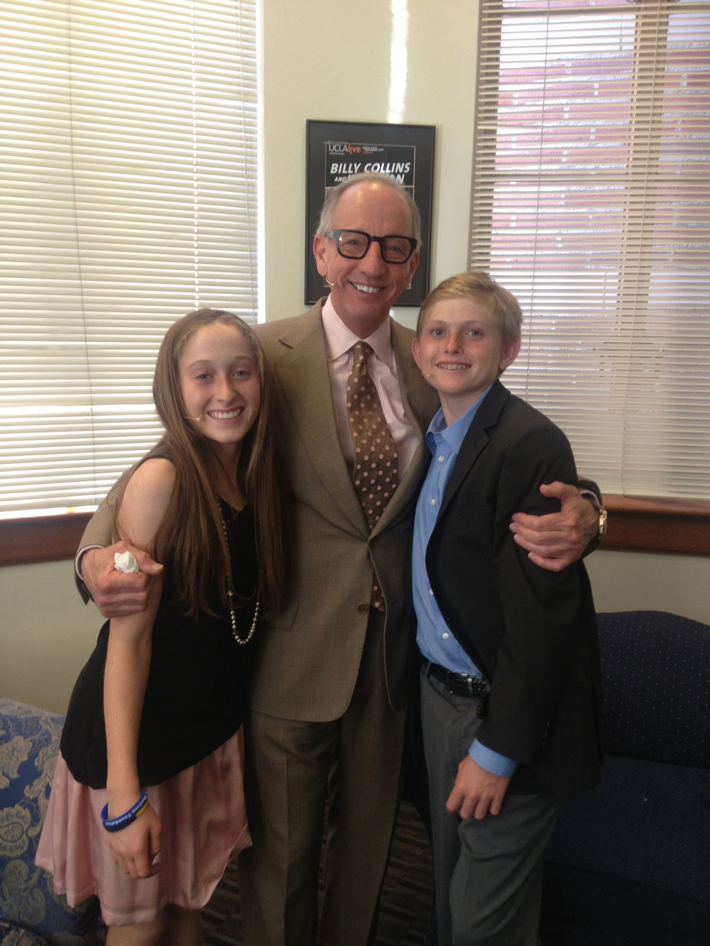 Nick and Lex with Dr. Ron Busuttil