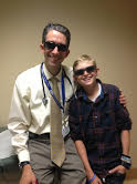Two Cool dudes sporting their Hoven Sunglasses (Nick and Dr. Rob Venick) 2014